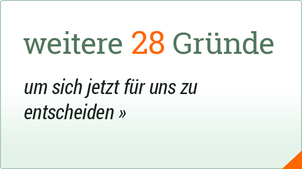 Marketingpaket - 28 Gute Gründe