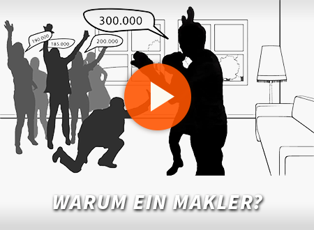 Warum ein Makler?