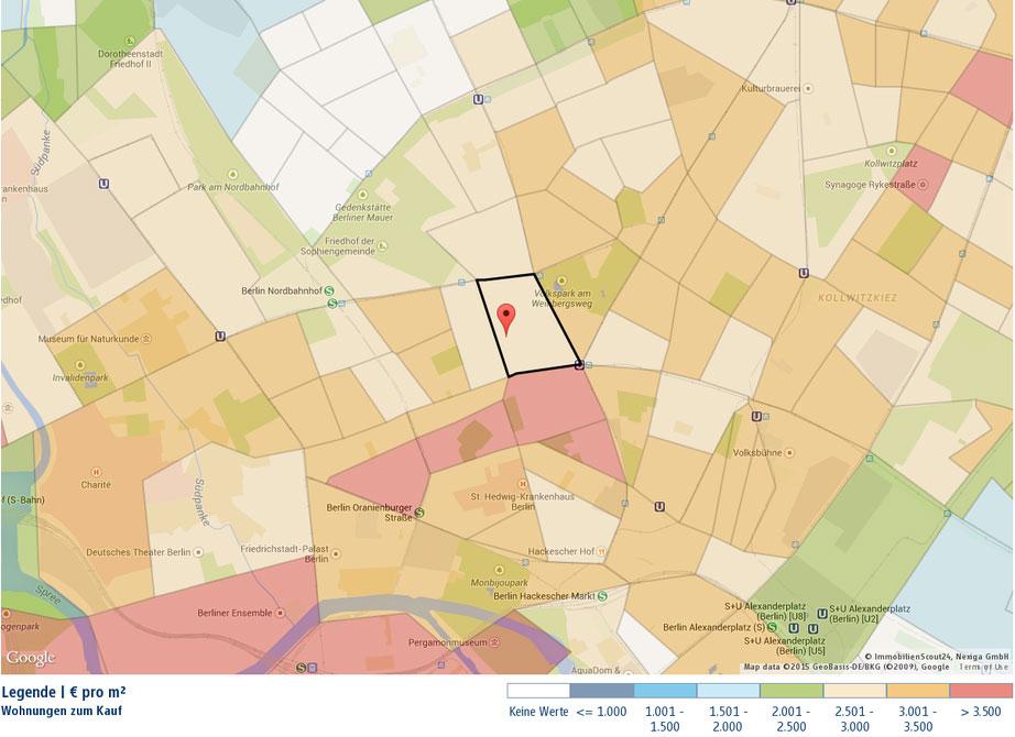 Wohnungen zum Kauf in Berlin Mitte